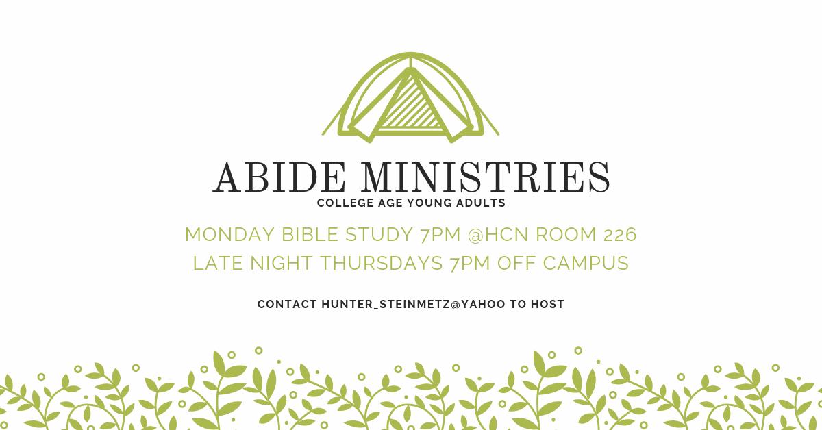 ABIDE-MINISTRIES